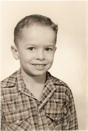 Erick in First Grade in 1955