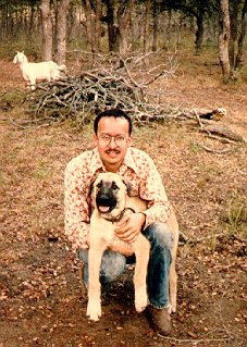 Erick with Casy in 1985